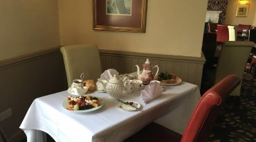 Afternoon Tea at The Downe Arms Hotel